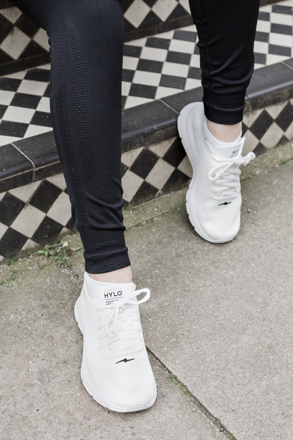 Close-up of Hylo Sustainable Sneakers