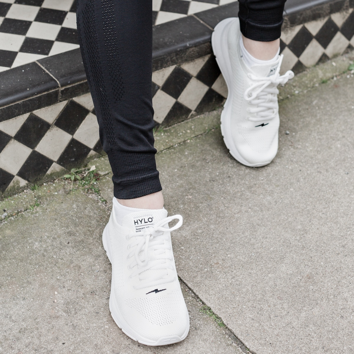 Close-up of Hylo Sneakers