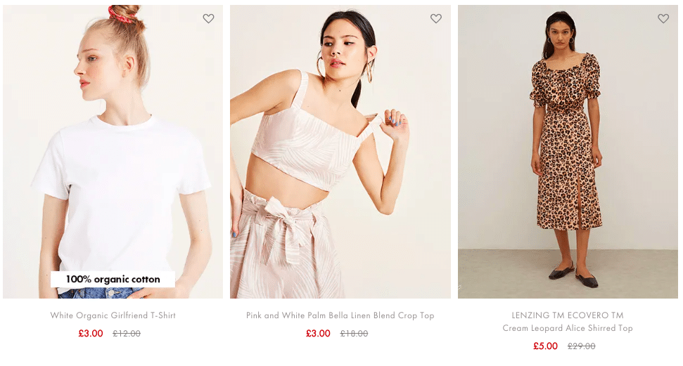 Nobody's Child Sale Tops for £3