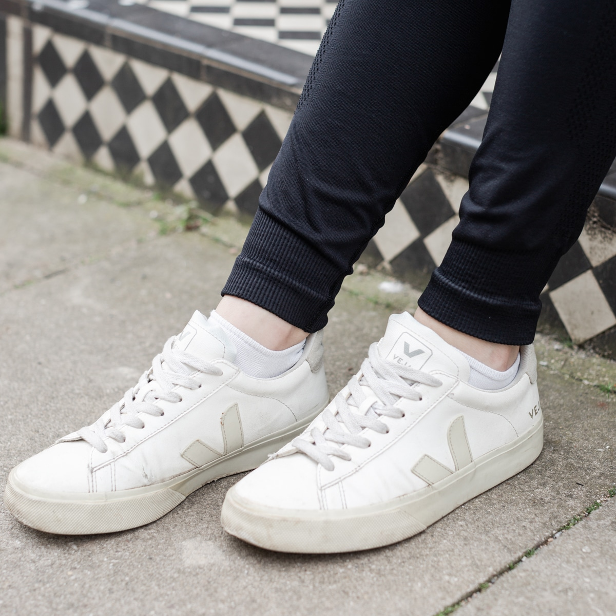 Close-up of Veja Sneakers