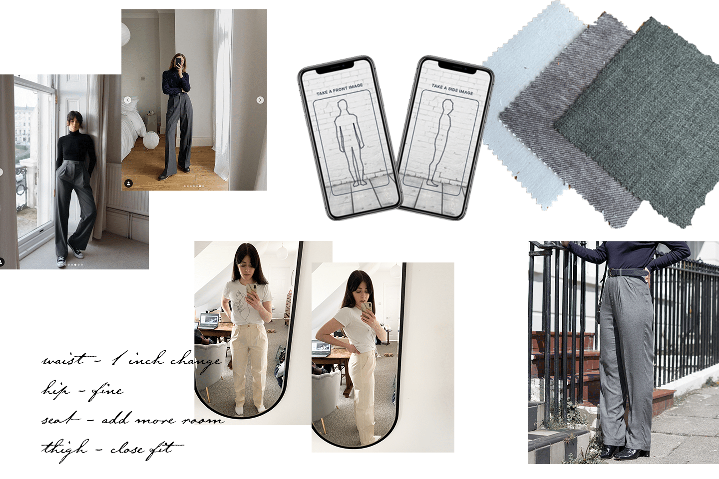 Collage outlining steps on How To Design Your Own Clothes