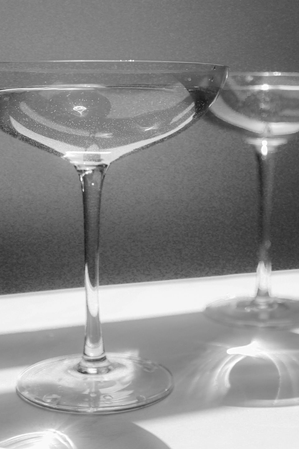 Reflections on the Transparency Index 2021 [Cocktail glasses in black and white]