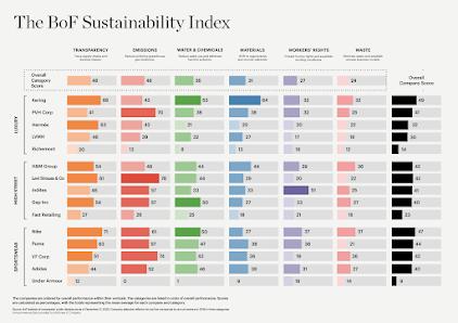 The BoF Sustainability Index