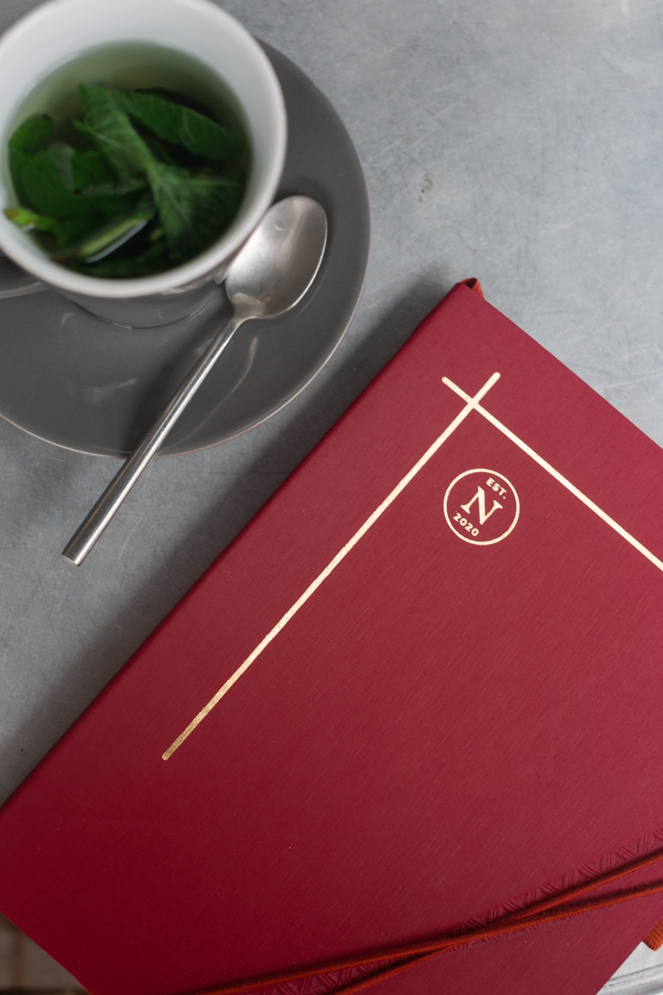STARK Notebook in Red from Nez Living