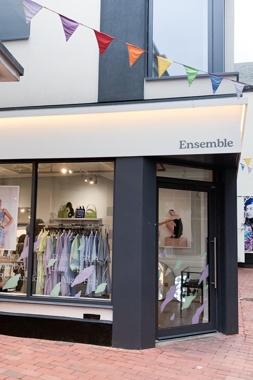 Exterior of Ensemble Store